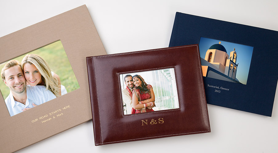 Linen and Leather Photo Books