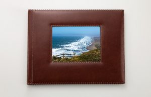 Leather Window Photo Book